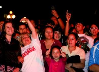 Mariana Delgado, Lupita La Cigarrita y la familia sonidera, recibiendo sus saludos